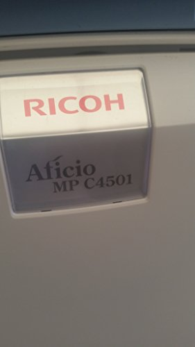 (Renewed Ricoh Aficio MP C4501 Color Multifunction Printer - 45 ppm, Tabloid-size, Copy, Print, Scan, 2 Trays with Stand)