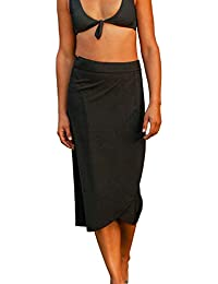 Length 3 - Quick Wrap Cover-up That Multitasks as The Perfect Travel/Summer Skirt
