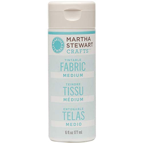 Martha Stewart Crafts Martha Stewart Tintable Fabric Medium Paint, 6 oz