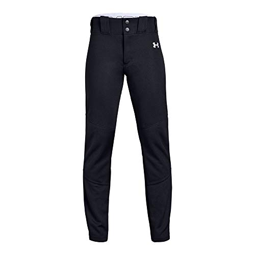 Under Armour Boys IL Ace Relaxed Pants, Black (001)/White, Youth -