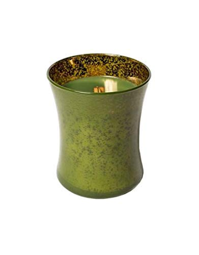 WoodWick Mercury Hourglass - Glass Fire Evergreen