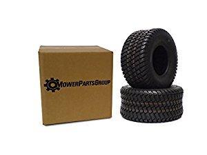 (2) Wanda 18x9.50-8 Tires 4 Ply Lawn Mower Garden Tractor 18-9.50-8 Turf Master Tread