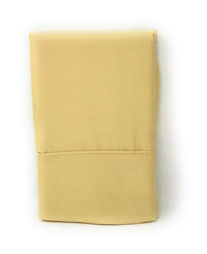 (Ralph Lauren Set of Dunham Sateen Standard Pillowcases- Italian Straw -300 Thread Count 100% Cotton-)