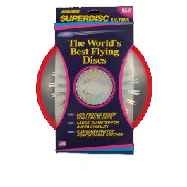 Green Aerobie SuperDisc Ultra Flying Disc Frisbee