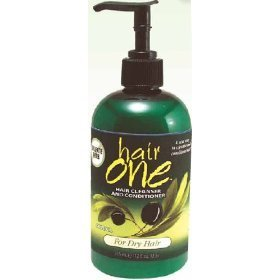 Hair One Cleansing Conditioner with Cucumber Aloe for Normal hair 12 oz. (Pack of 2) Fisk Industries
