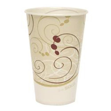 SOLO R12NSYM 12 Oz. Symphony Waxed Paper cold Cups (2000)