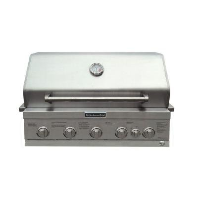 kitchenaid built in gas grill - 3