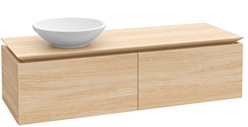 Villeroy + Boch Waschtischunterschrank Legato B11000 1200x380x500 Glossy Grey, B11000FP