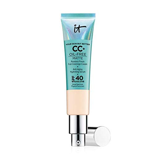 - It Cosmetics Your Skin But Better CC Cream Oil-Free Matte with SPF 40 - Light