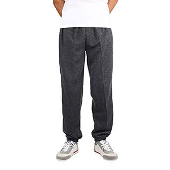 Tallas Grandes Pantalones para Hombre, Moda Color Sólido Loose Fit ...