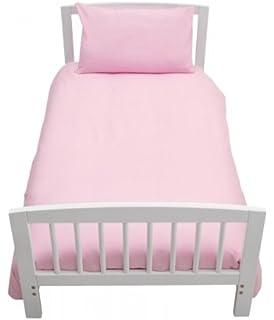 Pink Love2Sleep 100/% Egyptian Cotton COT Bed Duvet Cover 120 X 150 cm /& Pillowcase Set