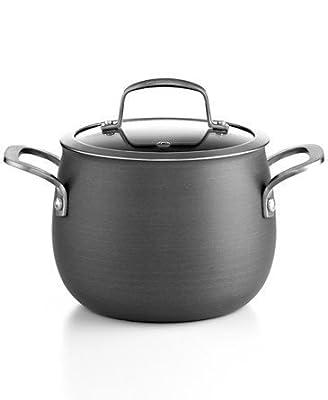 Belgique Hard Anodized 3 Qt. Covered Soup Pot by Belgique
