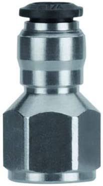 Pkg Qty 5 Pack Of 10 Aignep USA Male Adapter 6mm Straight x 1//8 BSPP