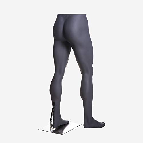 (MZ-HEF16LEG) High end Quality. Eye Catching Male Headless Mannequin Leg, Athletic Style. Standing Pose. by Roxy Display (Image #4)