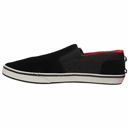 La Scarpa Da Uomo Di North Face Mens Lager Slip On Scarpa Tnf Nero / Tnf Rosso