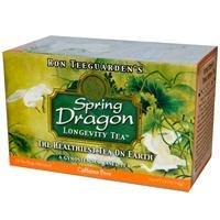 Dragon Herbes printemps dragon longévité thé sans caféine - 20 Sachets