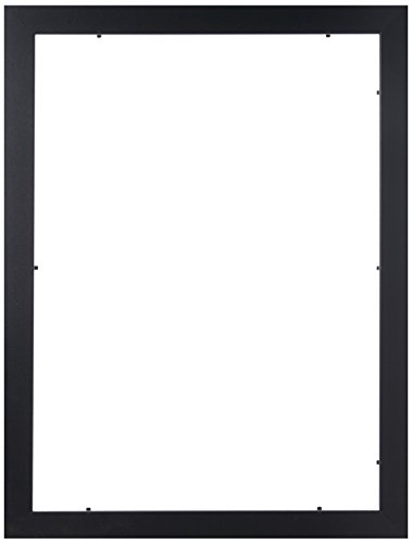 Amazon.com - ArtToFrames 13x18 inch Satin Black Picture Frame ...