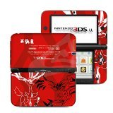 Pokemon XY Red Limited Edition VINYL SKIN STICKER DECAL COVER for Nintendo 3DS XL / LL Console System