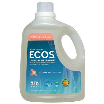 Earth Friendly Products ECOS® Liquid Laundry Detergent Magnolia & Lily 2-pack