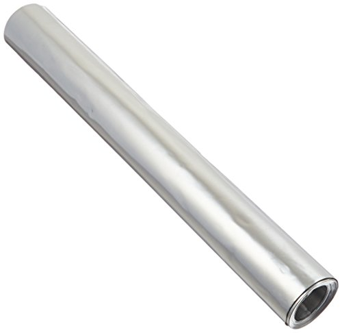 "St. Louis Crafts 12"""" X10' 36GA ALM Foil Sheet Roll, 12"" x 120"" Size, 36 Gauge, Aluminum"