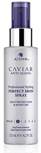 CAVIAR Anti-Aging Professional Styling Perfect Iron Thermal Heat Protection Hair Spray, 4.2-Ounce