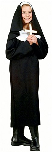 Lil Sister Child Costumes (OvedcRay Lil' Sister Nun Child Costume Mother Teresa Catholic Girl Habit Costumes)