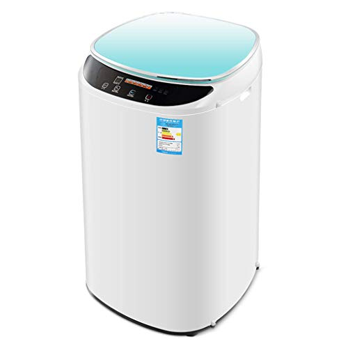 Mini Washing Machine – Fully Automatic Compact Washer Spin Dryer for Apartment, Hotel, Dorm (Rose Red, Yellow, Pink, White, Blue)