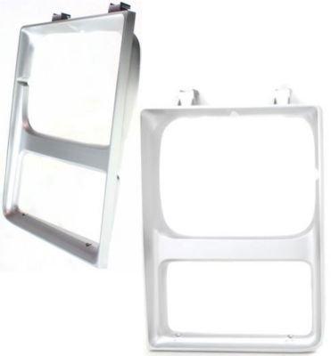 Evan-Fischer EVA18972056882 Headlight Door Set of 2 Single Passenger & Driver Side Grill Extension Grille headlamp Bezel Molding Moulding trim Primered
