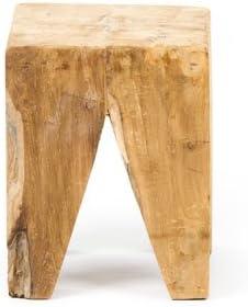 Mesa/banqueta tronco de madera: Amazon.es: Hogar