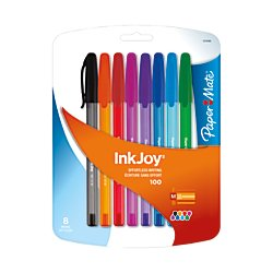paper-mate-inkjoy-100st-ballpoint-pen-medium-fashion-colors-8-count