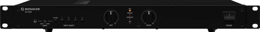 img Stage Line 25.5070 - Amplificatore PA stereo digitale dotato di 5 uscite con interruttore Monacor