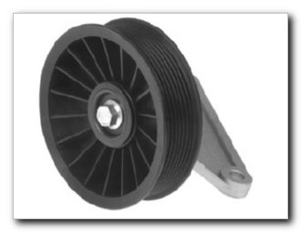 ac compressor bypass pulley - 8
