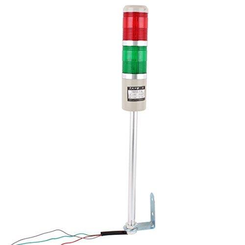 Amazon.com: Alarma DC 24V Torre Industrial Seguridad señal ...