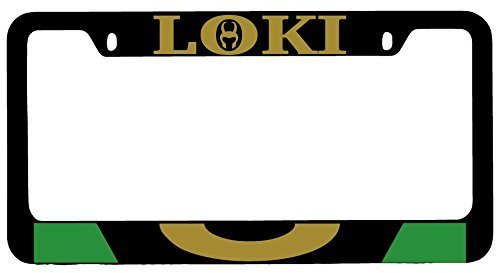 Mark Reynolds Loki Black Metal License Plate