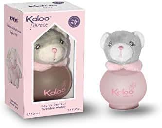 Kaloo Parfums Lilirose Alcohol Free for Baby Girl, 1.7 Ounce