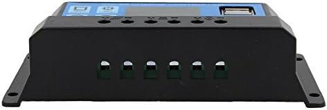 SovelyBoFan 20A 12V 24V Auto Arbeit PWM Solar Laderegler mit LCD Dual USB 5V Ausgang Solar Cell Panel Ladegeraet Regulato
