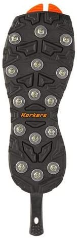 Korkers OmniTrax v3.0 Interchangeable Sole - Triple Threat with Carbide Spikes