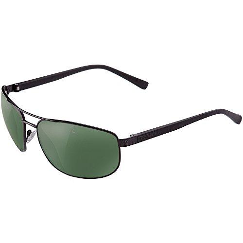 Vuarnet VL150700011121 Sunglasses Sunglasses Matte Black Frame PX 3000 Pure Grey Glass - Sunglasses Px