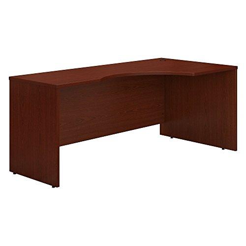 Bush Business Furniture Series C 72W Right Handed Corner Desk in Mahogany (U-shaped Right Corner Desk)