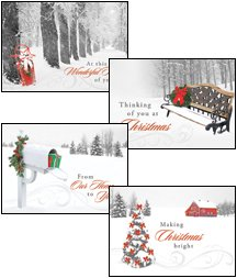 Winter Wonderland - Boxed Greeting Cards - Christmas - KJV Scripture
