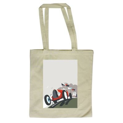 design 380mm Tote Shopper Thompson x with 420mm By Bag Dave Art247 of Goodwood illustrator nIRqwpqa1x
