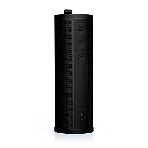 Edifier MP280 Portable Speaker - Wireless Boombox with microSD, Bluetooth 4.0 and AUX inputs and Emergency Charging Station - Black (Mp3 Station)