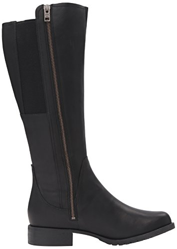 Timberland Womens Banfield Tall All-Fit Waterproof Riding Boot Jet Black Forty
