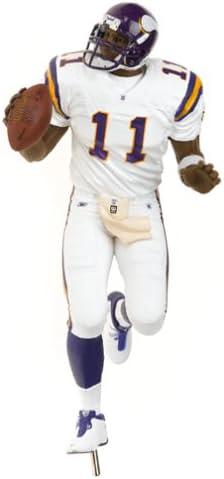 Daunte Culpepper 2 Rare Minnesota Vikings White Jersey Variant McFarlane NFL Series 9 Action Figure