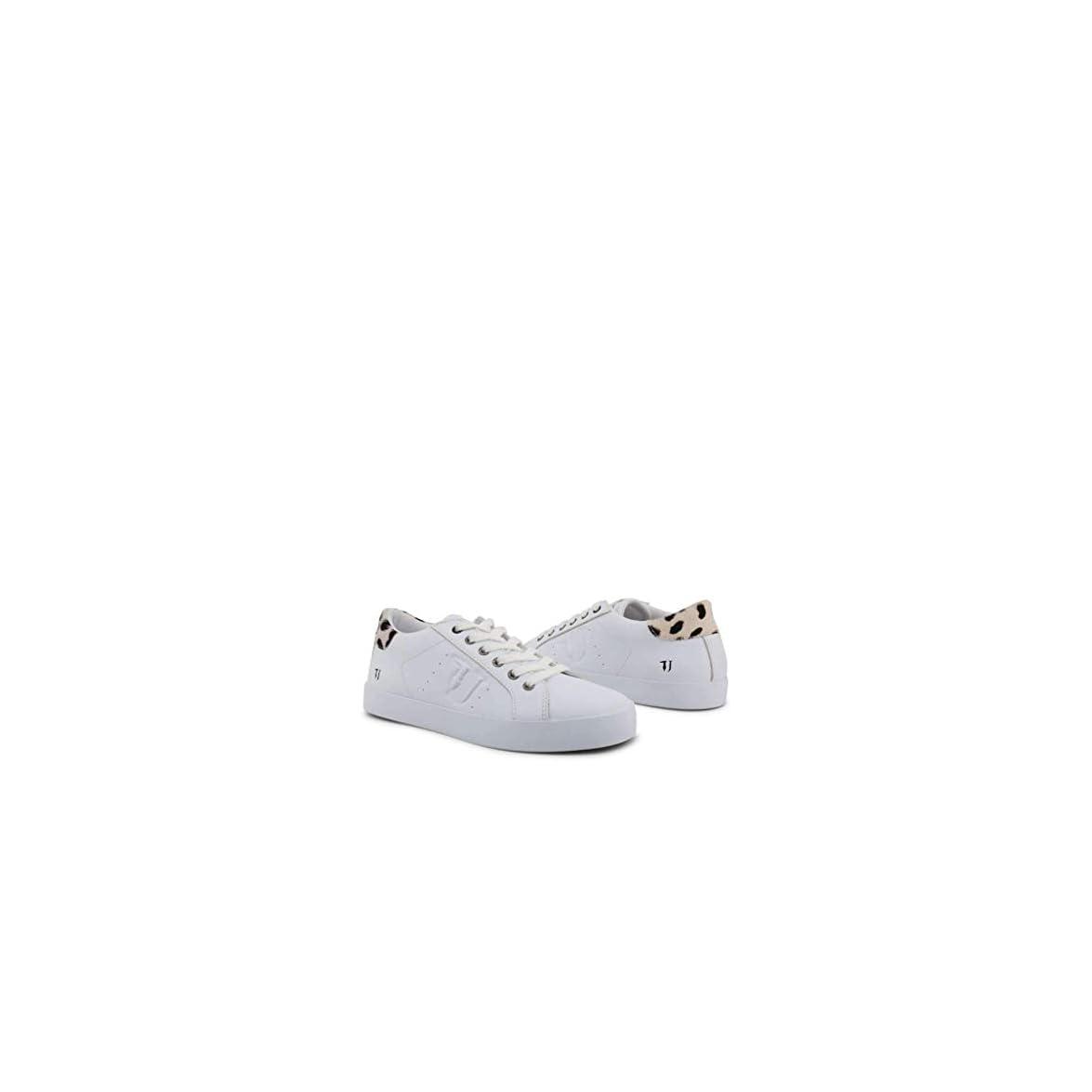 Scarpe Basse Sneakers Donna Bianco 79a00255 - Trussardi