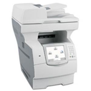 Lexmark X646E Low Voltage Multifunction Printer Government Compliant - Monochrome Laser - 50 ppm Mono - 1200 x 1200 dpi - Printer, Copier, Scanner - Fast Ethernet - - Printer Laser X646e