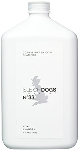 Isle of Dogs Coature No. 33 Coarse Coat Dog Shampoo for wire or crisp coats, 1 - Shampoo Coat Harsh