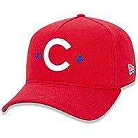 7d492cd81 BONE 940 CHICAGO CUBS MLB ABA CURVA SNAPBACK VERMELHO NEW ERA