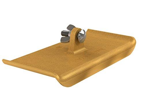 Bon 12-283 9-Inch by 4-Inch Bronze Walking Edger (Concrete Edger Bronze)