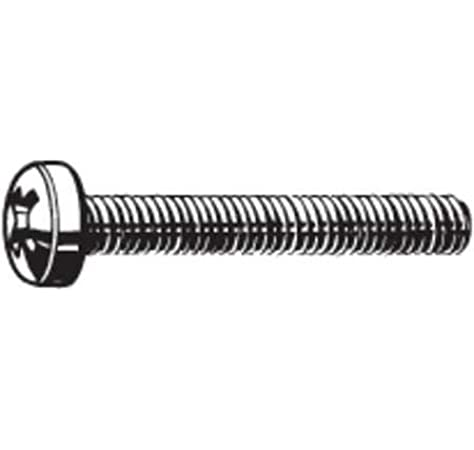 Black-Zinc Pan Head Washer Phillips Machine Screws Computer Screws M2 M2.5 M3 M4